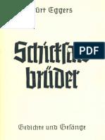 Kurt Eggers - Schicksalsbrueder - Gedichte Und Gesaenge