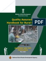 Quality for road and engineer hand book