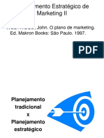 Plano de Marketing x Plano Corporativo