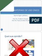 Reuso de Materiais de Uso Único-2017
