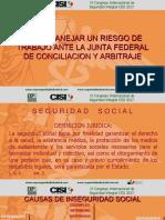 COMO MANEJAR UN RIESGO DE TRABAJO ANTE LA JUNTA DE CONCILIACIÓN Y ARBITRAJE.pdf