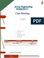 EV411 Class Briefing