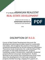 Real Estate Development by Ahmad Saifudin Mutaqi