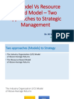IO Model Vs Resource based Model - two approaches to strategy.pptx