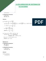 soluciones ecuaciones