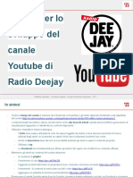 Radio Deejay su Youtube