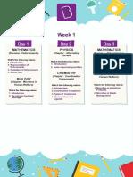 Study Plan - 05 - Class 12 - PCMB