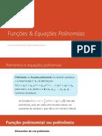 Funções polinomiais