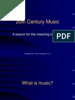 20th Century Music
