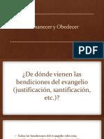 Permanecer y Obedecer (Santidad)