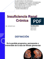 insuficiencia renal cronica pediatria