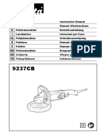 Manual Pulidora 9237cb