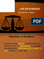 Law on Evidence CIC