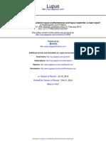 Dengue Fever Evolving Into Systemic Lupus Erythematosus and Lupus Nephritis a Case Report