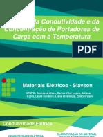 (APRESENTAÇÃO) Variação da Condutividade e da Concentração de Portadores de Carga com a Temperatura.pdf