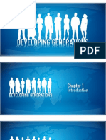 6.Slides - Developing Generations