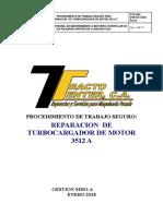 Pts 002 Reparacion de Turbocargador de Motor 3512 A