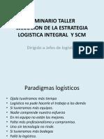 seminario estrategia logística dirigido a jefes