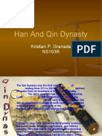 Han and Qin Dynasty(Kristian's report)