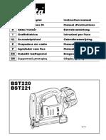 MANUALENGRAMPADORA BST221