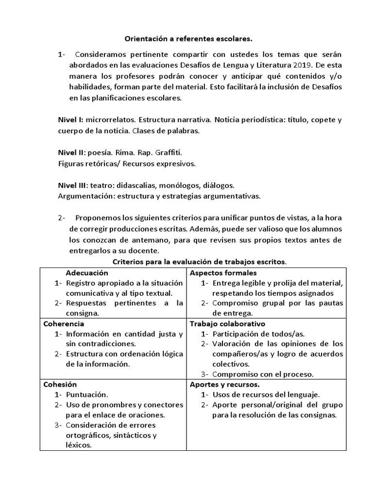 Orientación Para Referentes Escolares Docx