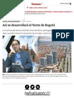 Plan Zonal Bogotá