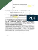 Carta Nº Opinion Proyct Adicional