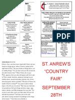 St Andrews Bulletin 081119