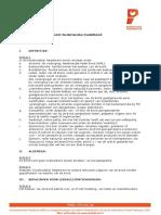 Huishoudelijk Reglement Nederlandse Padelbond Dec 2015
