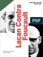 Nadia Bou Ali Lacan Contra Foucault Subjectivity Sex and Politics