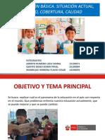Ppt Educacion en El Peru