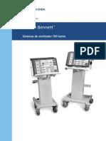Manual Ventilador paciente puritan 760