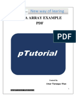 Java Array Example PDF