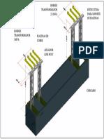 Diseño Platinas de Cobre Transformador