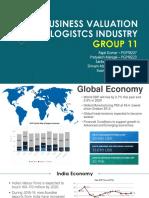 Group 11 Logistics
