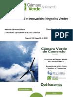 Camara Verde de Comercio - Sostenibilidad e Innovacion - Negocios Verdes - Mayo 16 2019.pptx