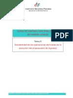 Tema 3 Contabilidad de Operaciones Presupuesto de Ingresos