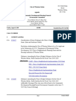 Community Development, Housing & General Government Committee Agenda, August 12, 2019