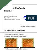 Albañilería Confinada Sesión 2