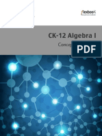 Algebra I Concepts