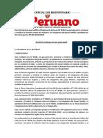 Decreto Supremo 004-2019-MIMP-Reglamento de La Ley Nº 30364