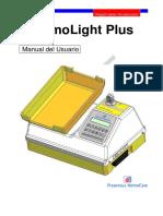 Manual Usuário HemoLight Plus QL-55-00 Españoll