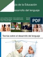 ETAPAS DEL DESARROLLO DEL LENGUAJE