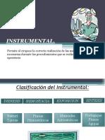 Instrumental y Suturas