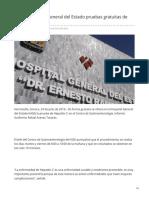 24-07-2019 Realiza Hospital General Del Estado Pruebas Gratuitas de Hepatitis -CTermometro