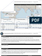 U.S. Navy Office of Naval Intelligence HORN OF AFRICA/GULF OF GUINEA/SOUTHEAST ASIA Weekly Piracy Update for 1 -7 August 2019