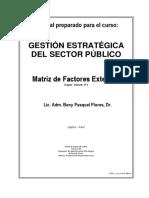 2. Matriz de Factores Externos-TEORIA