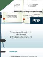 Apresentação Ementa Do Curso Psicanálise.ppt