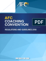 Afc Coaching Convention 2018