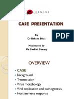 Dengue Case Presentation- Dr Raksha Bhat